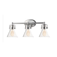 Maxim 26113CDPC Seafarer 3 Light 24 inch Polished Chrome Bath Vanity Wall Light in Without Bulb