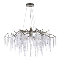 Willow 8 Light 35 inch Silver Gold Single-Tier Chandelier Ceiling Light