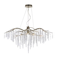 Willow 11 Light 45 inch Silver Gold Single-Tier Chandelier Ceiling Light