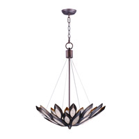 Lotus 6 Light 24 inch Burnished Bronze Single Pendant Ceiling Light