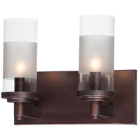 Maxim 26322CLFTOI Crescendo 2 Light 11 inch Oil Rubbed Bronze Wall Sconce Wall Light