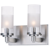 Maxim 26322CLFTSN Crescendo 2 Light 11 inch Satin Nickel Wall Sconce Wall Light