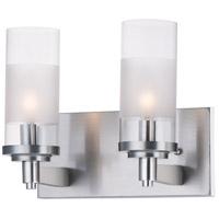 Maxim 26322CLFTSN Crescendo 2 Light 11 inch Satin Nickel Wall Sconce Wall Light
