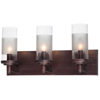 Maxim 26323CLFTOI Crescendo 3 Light 18 inch Oil Rubbed Bronze Wall Sconce Wall Light
