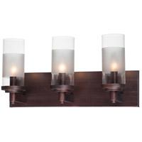 Maxim 26323CLFTOI Crescendo 3 Light 18 inch Oil Rubbed Bronze Wall Sconce Wall Light