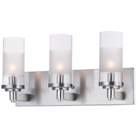 Maxim 26323CLFTSN Crescendo 3 Light 18 inch Satin Nickel Wall Sconce Wall Light