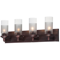 Maxim 26324CLFTOI Crescendo 4 Light 25 inch Oil Rubbed Bronze Wall Sconce Wall Light