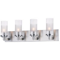 Maxim 26324CLFTSN Crescendo 4 Light 25 inch Satin Nickel Wall Sconce Wall Light
