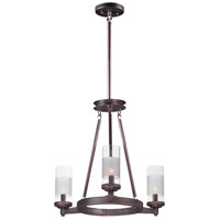 Crescendo 3 Light 20 inch Oil Rubbed Bronze Mini Chandelier Ceiling Light