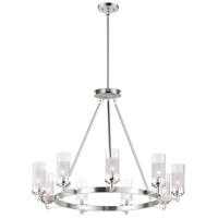 Maxim 26327CLFTSN Crescendo 9 Light 35 inch Satin Nickel Chandelier Ceiling Light