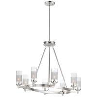 Maxim 26328CLFTSN Crescendo 8 Light 24 inch Satin Nickel Chandelier Ceiling Light