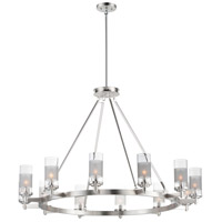 Maxim 26329CLFTSN Crescendo 12 Light 44 inch Satin Nickel Chandelier Ceiling Light