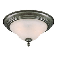 Maxim Lighting Pacific 2 Light Flush Mount in Pewter 2650MRPE