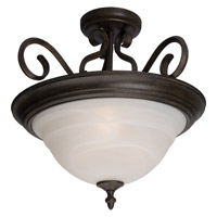Maxim Lighting Pacific 3 Light Semi Flush Mount in Acorn 2652MRAC