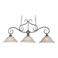 Maxim Lighting Pacific 3 Light Island Pendant in Pewter 2653MRPE