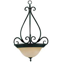 Maxim 2654WSKB Pacific 3 Light 21 inch Kentucky Bronze Pendant Ceiling Light in Wilshire