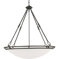 Maxim Lighting Stratus 6 Light Pendant in Bronze 2671MRBZ