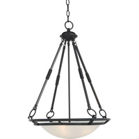 Maxim 2672MRBZ Stratus 4 Light 20 inch Bronze Pendant Ceiling Light