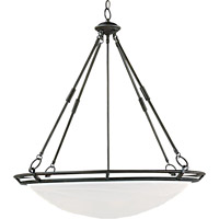 Maxim 2674MRBZ Stratus 6 Light 28 inch Bronze Pendant Ceiling Light