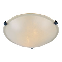Maxim Lighting Malaga 2 Light Flush Mount in Oil Rubbed Bronze 2680WSOI