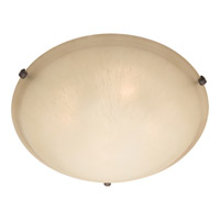 Maxim Lighting Malaga 3 Light Flush Mount in Oil Rubbed Bronze 2681WSOI