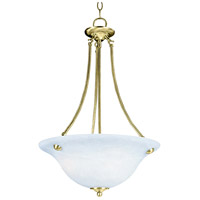 Maxim Lighting Malaga 3 Light Pendant in Polished Brass 2682MRPB