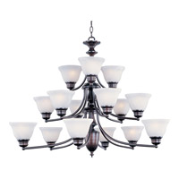 Maxim Lighting Malaga 15 Light Multi-Tier Chandelier in Oil Rubbed Bronze 2683MROI