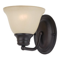 Maxim Lighting Malaga 1 Light Wall Sconce in Oil Rubbed Bronze 2686WSOI