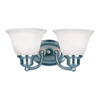 Maxim Lighting Malaga 2 Light Bath Light in Satin Nickel 2687MRSN