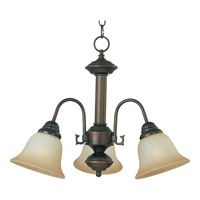 Maxim Lighting Malaga 3 Light Mini Chandelier in Oil Rubbed Bronze 2697WSOI