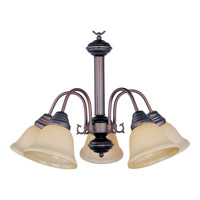 Maxim Lighting Malaga 5 Light Down Light Chandelier in Oil Rubbed Bronze 2698WSOI