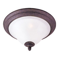 Maxim Lighting Canyon Rim 2 Light Flush Mount in Canyon Rock 2750SVCR
