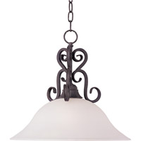 Maxim Lighting Canyon Rim 1 Light Pendant in Canyon Rock 27511SVCR