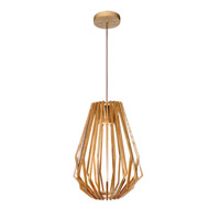 Maxim Lighting Saki 1 Light LED Entry Foyer Pendant in Uddo 27524UD