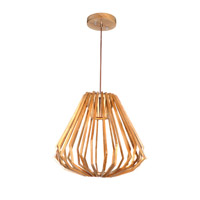 Maxim Lighting Saki 1 Light LED Entry Foyer Pendant in Uddo 27525UD
