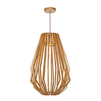 Maxim Lighting Saki 1 Light LED Entry Foyer Pendant in Uddo 27527UD