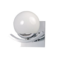 Motion 1 Light 7 inch Polished Chrome Wall Sconce Wall Light