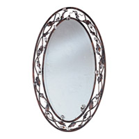 Maxim Lighting Elegante Mirror in Oil Rubbed Bronze 2849OI