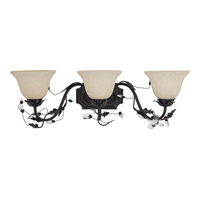 Maxim Lighting Elegante 3 Light Bath Light in Oil Rubbed Bronze 2865FIOI