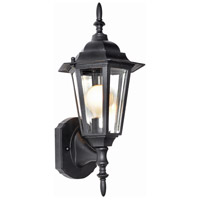 Maxim Lighting Builder Cast 1 Light Outdoor Wall Mount in Black 3000CLBK alternative photo thumbnail