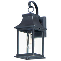 Maxim 30022CLBK Vicksburg 1 Light 16 inch Black Outdoor Wall Mount