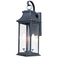 Maxim 30023CLBK Vicksburg 2 Light 20 inch Black Outdoor Wall Mount