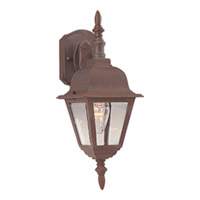 Maxim Lighting Builder Cast 1 Light Outdoor Wall Mount in Country Stone 3007CLCS photo thumbnail
