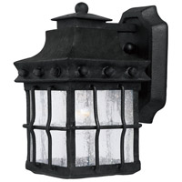 Nantucket 1 Light 10 inch Country Forge Outdoor Wall Mount