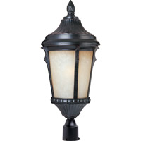 Odessa 1 Light 21 inch Espresso Outdoor Pole/Post Lantern