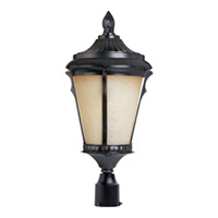 Maxim Lighting Odessa 1 Light Outdoor Pole/Post Lantern in Espresso 3011LTES