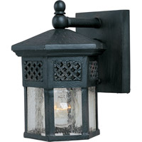 Scottsdale 1 Light 9 inch Country Forge Outdoor Wall Mount