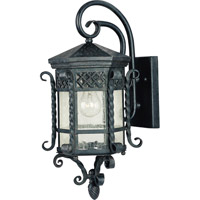 Maxim 30123CDCF Scottsdale 1 Light 21 inch Country Forge Outdoor Wall Mount