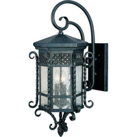 Scottsdale 3 Light 28 inch Country Forge Outdoor Wall Mount