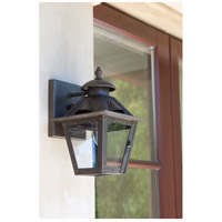 Maxim Lighting Madison 1 Light Outdoor Wall Mount in Russet 30132CDRT
